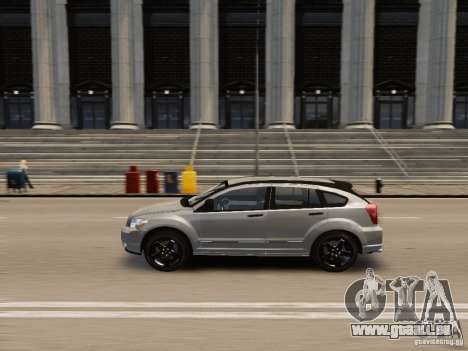 Dodge Caliber pour GTA 4 est une vue de l'intérieur