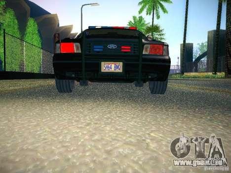Ford Crown Victoria Police Intercopter für GTA San Andreas Seitenansicht