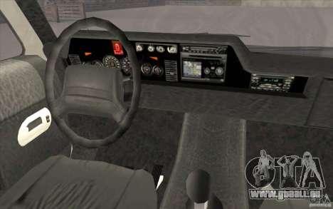 GTA3 HD Vehicles Tri-Pack III v.1.1 für GTA San Andreas Innen