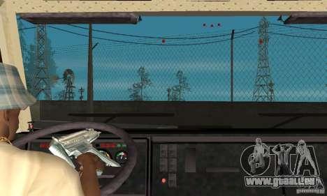 KAMAZ 5460 4 Skin für GTA San Andreas Innenansicht