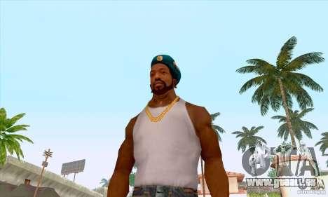 Béret AIRBORNE pour GTA San Andreas cinquième écran