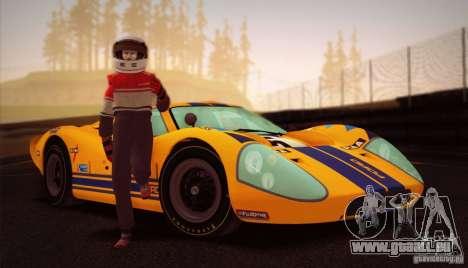 Ford GT40 MK IV 1967 für GTA San Andreas