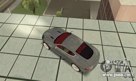 Aston Martin DB9 für GTA San Andreas zurück linke Ansicht
