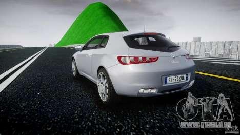 Alfa Romeo Brera Italia Independent 2009 pour GTA 4 Vue arrière de la gauche