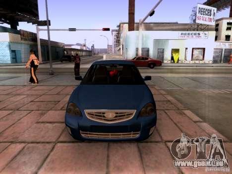 Lada Priora Limousine für GTA San Andreas Rückansicht