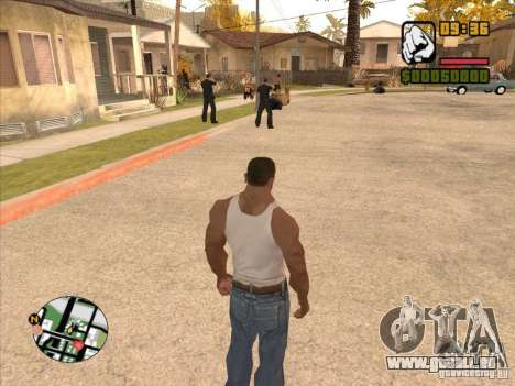 Call the Police für GTA San Andreas fünften Screenshot
