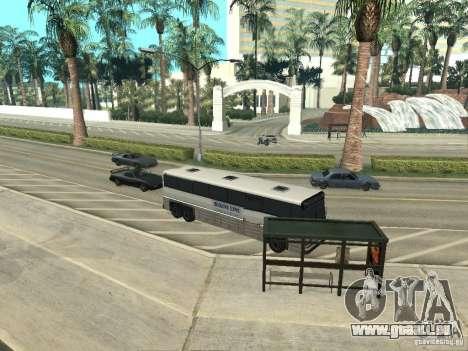 Ligne de bus à Las Venturas pour GTA San Andreas neuvième écran