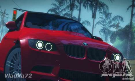 BMW E92 v2 Updated für GTA San Andreas