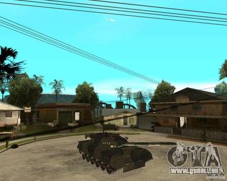 T-80U für GTA San Andreas rechten Ansicht