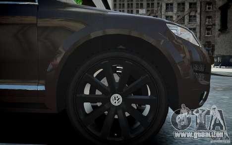 Volkswagen Touareg R50 pour GTA 4 est une vue de l'intérieur