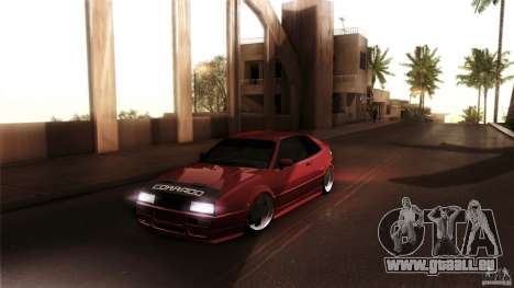 Volkswagen Corrado VAG pour GTA San Andreas vue de droite