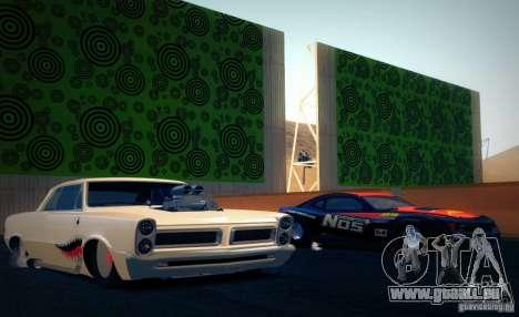 Pontiac GTO Drag Shark für GTA San Andreas rechten Ansicht