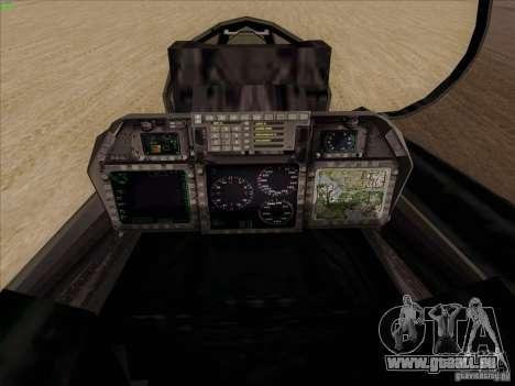 F-14 Tomcat Warwolf für GTA San Andreas Seitenansicht