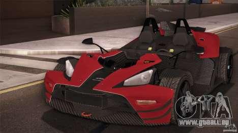 KTM-X-Bow pour GTA San Andreas vue de droite