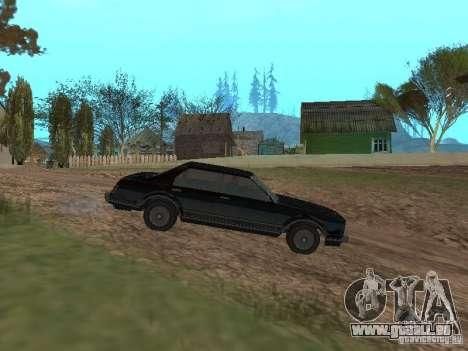 Römische ist Taxi von GTA 4 für GTA San Andreas linke Ansicht