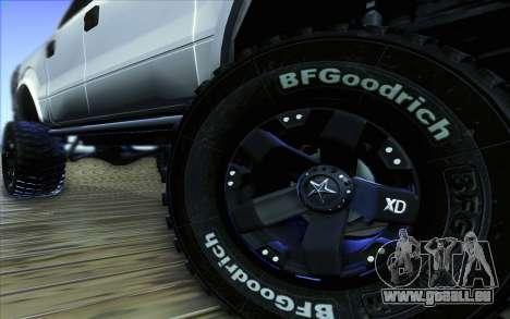 Ford F-150 Carryer Metal Mulisha für GTA San Andreas obere Ansicht