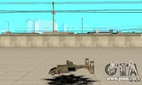 Hawk für GTA San Andreas linke Ansicht