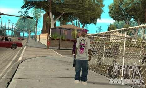 Remplacer toutes les apparences d'East Side Ball pour GTA San Andreas troisième écran
