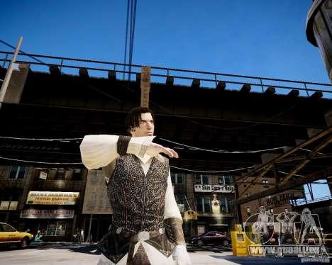 Assasins Creed 2 Young Ezio für GTA 4 Sekunden Bildschirm