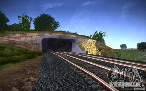 HD Schienen V 2.0 Final für GTA San Andreas fünften Screenshot