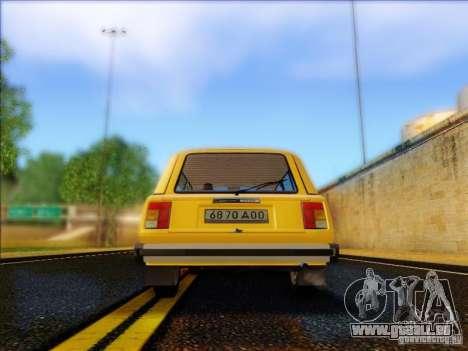 VAZ 2104 Taxi für GTA San Andreas rechten Ansicht