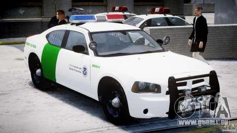 Dodge Charger US Border Patrol CHGR-V2.1M [ELS] pour GTA 4 est une gauche