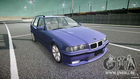 BMW 318i Touring für GTA 4 Rückansicht
