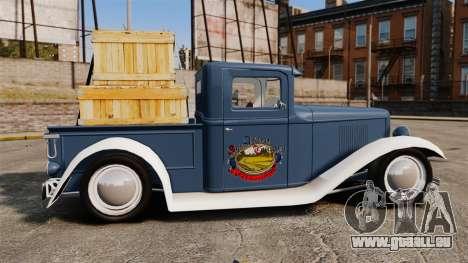 Ford Farmtruck MF 1932 pour GTA 4 est une gauche