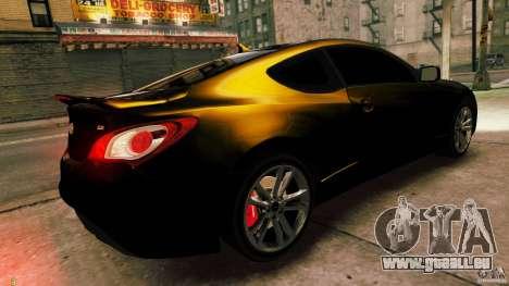Hyundai Genesis Coupe 2010 pour GTA 4 est une gauche
