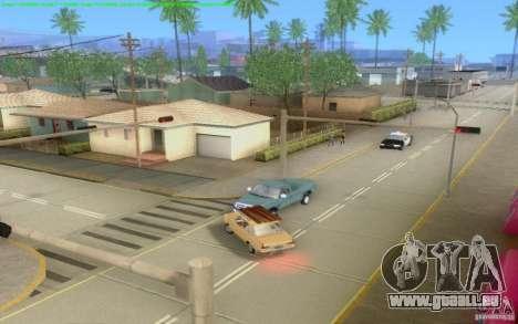 Routes en béton de Los Santos Beta pour GTA San Andreas dixième écran