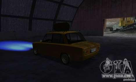 VAZ 2101 RAT LOOK pour GTA San Andreas vue de droite