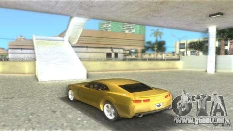 Chevrolet Camaro pour une vue GTA Vice City de la gauche