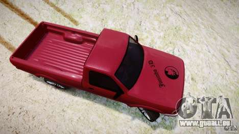 Ford Ranger für GTA 4 Seitenansicht