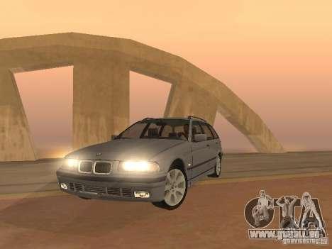 BMW 318 Touring pour GTA San Andreas laissé vue