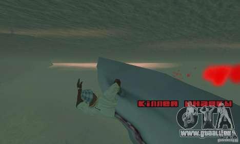 Shark Killer pour GTA San Andreas deuxième écran
