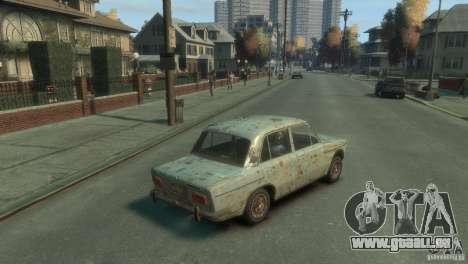 VAZ 2103-Rusty v1. 0 für GTA 4 hinten links Ansicht