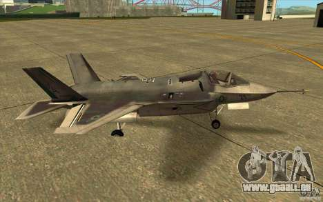 Lockheed F-35 Lightning II pour GTA San Andreas laissé vue