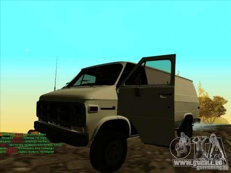 GMC Vandura C1500 für GTA San Andreas linke Ansicht