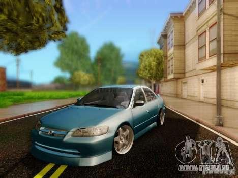 Honda Accord 2001 pour GTA San Andreas