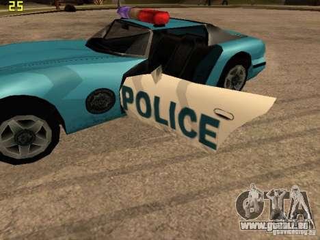 Banshee Police San Andreas pour GTA San Andreas vue de droite