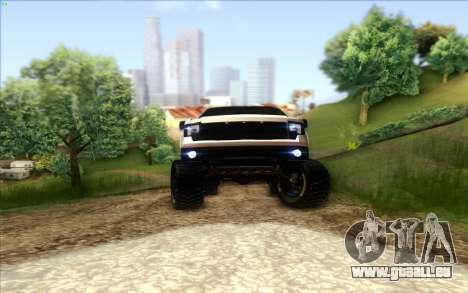 Ford F-150 Carryer Metal Mulisha für GTA San Andreas Innenansicht