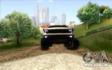 Ford F-150 Carryer Metal Mulisha für GTA San Andreas Innenansicht