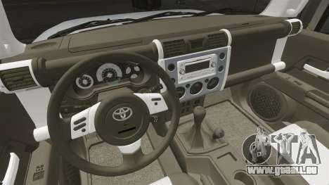 Toyota FJ Cruiser pour GTA 4 est un côté