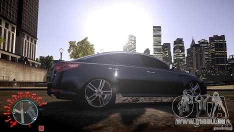 Kia Optima Dub für GTA 4 rechte Ansicht
