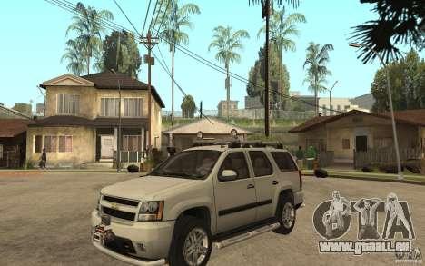 Chevrolet Tahoe für GTA San Andreas