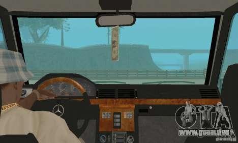 Mercedes-Benz G500 1999 c. 1,1 kengurâtnikom pour GTA San Andreas vue arrière