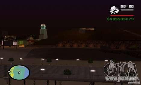 0,075 ENBSeries (juste de l'eau) pour GTA San Andreas cinquième écran