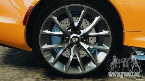 SRT Viper GTS 2013 für GTA 4 Seitenansicht