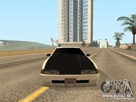 Elégie de Foresto_O pour GTA San Andreas vue de dessus