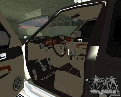 Toyota Surf v2.1 pour GTA San Andreas vue de droite